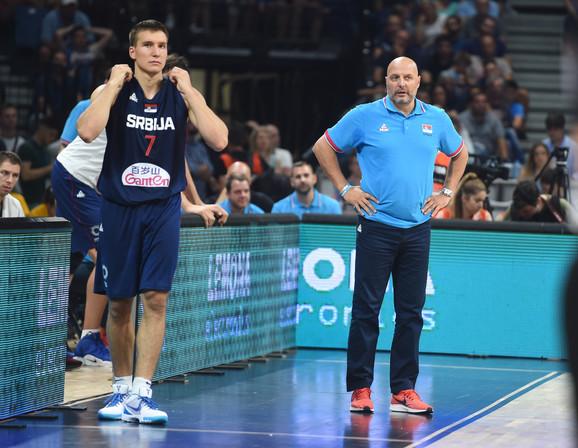 Bogdan Bogdanović i Aleksandar Đorđević