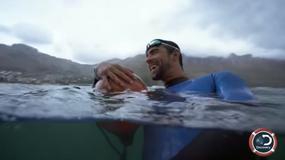 Phelps ścigał się z rekinem? Widzowie byli pewni