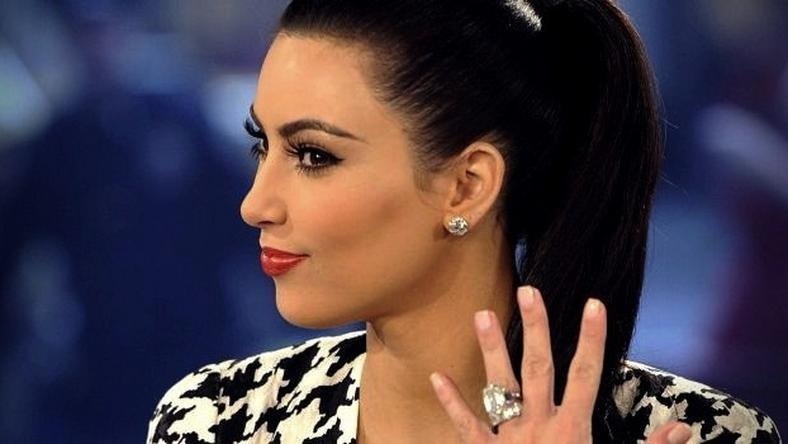 Kim Kardashian engagement ring