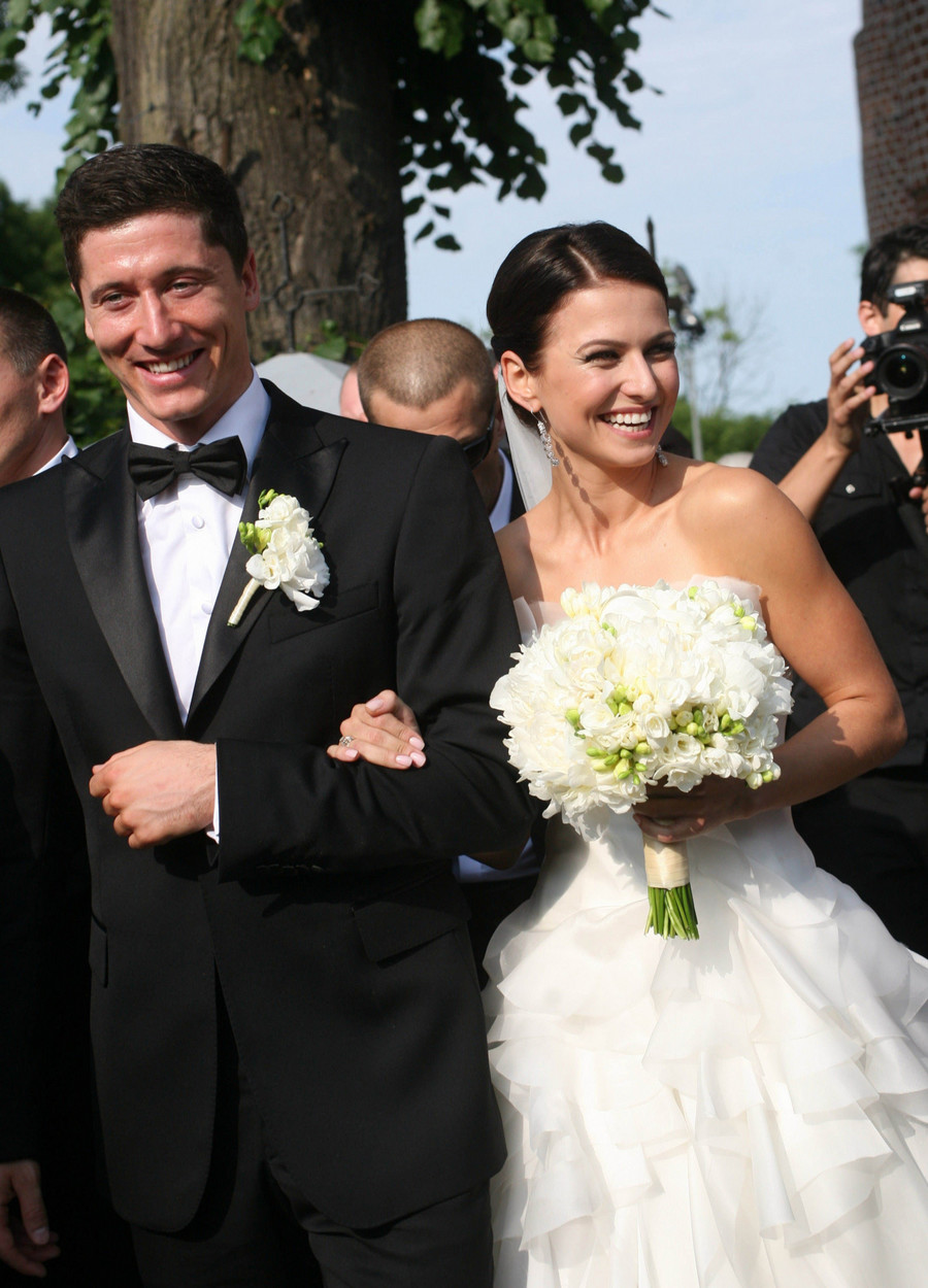 Anna i Robert Lewandowscy / East News