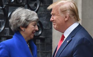 Donald Trump popiera twardy brexit i liczy na rewolucję
