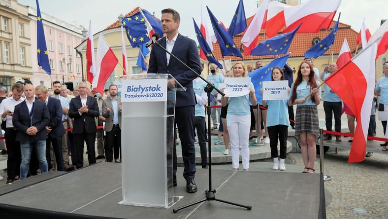 Rafał Trzaskowski w Białymstoku