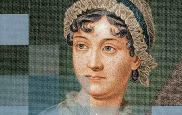 "fragment okładki książki ""Jane Austen i jej racjonalne romanse""."