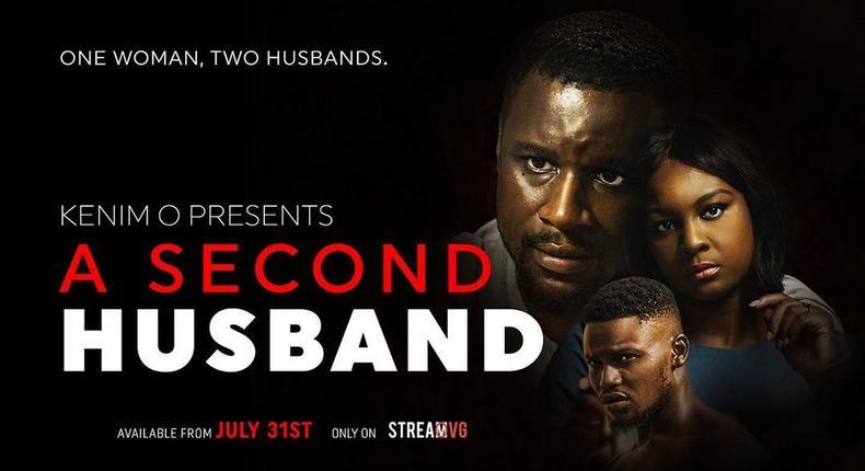 Osas Ighodaro, Udoka Oyeka and Jammal Ibrahim star in 'A Second Husband' [streamovg.com]