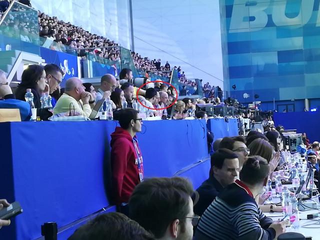 Andrija Prlainović posmatra finale EP