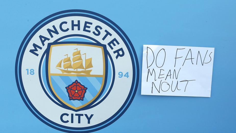 Manchester City wycofuje się z Superligi