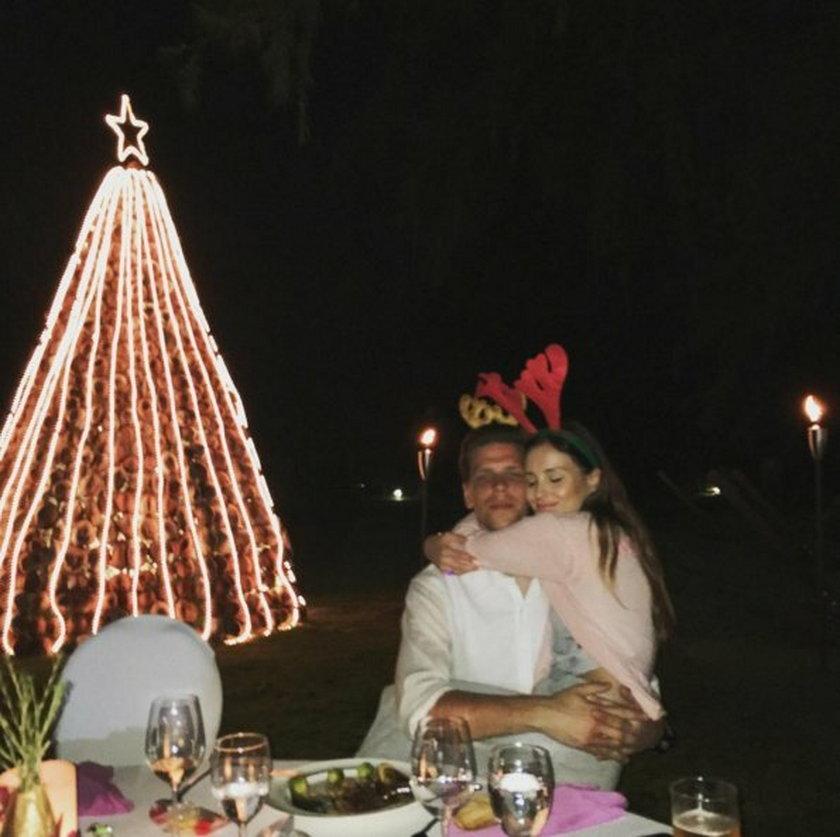 Marina Łuczenko i Wojciech Szczęsny spędzają Święta w Tajlandii