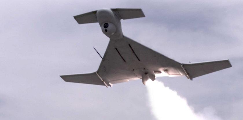 Zobacz drona kamikaze. Właśnie zaatakował