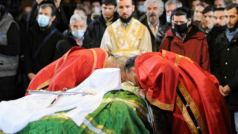 Pogrzeb patriarchy Serbii Ireneusza