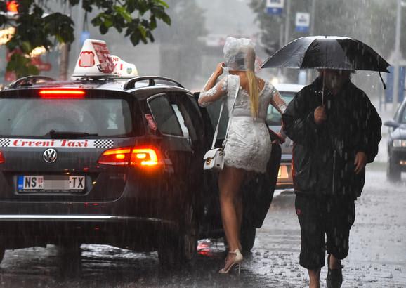 Kišoviti i sunčani dani smenjivaće se do kraja jula