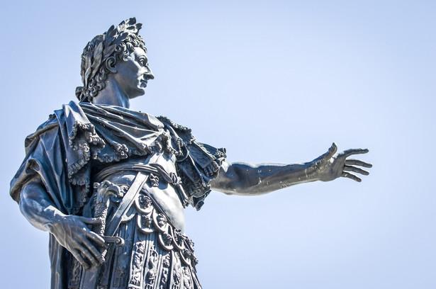 Pomnik cesarza Oktawiana Augusta, założyciela Augsburga