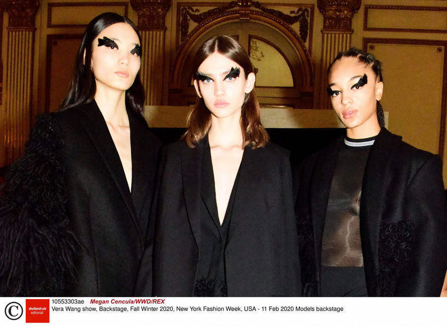 Vera Wang / Megan Cencula/WWD/REX/Rex Fashion/East News