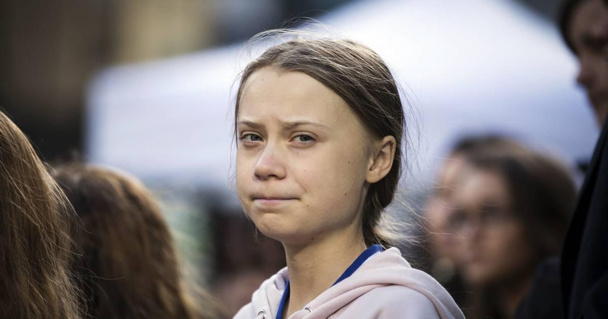 Auf diesem Riesen-Gemälde sieht Greta Thunberg aus wie Putin