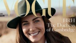 """Księżna Kate na okładce """"Vogue'a""""! Zdjęcia wywołały burzę w sieci"""