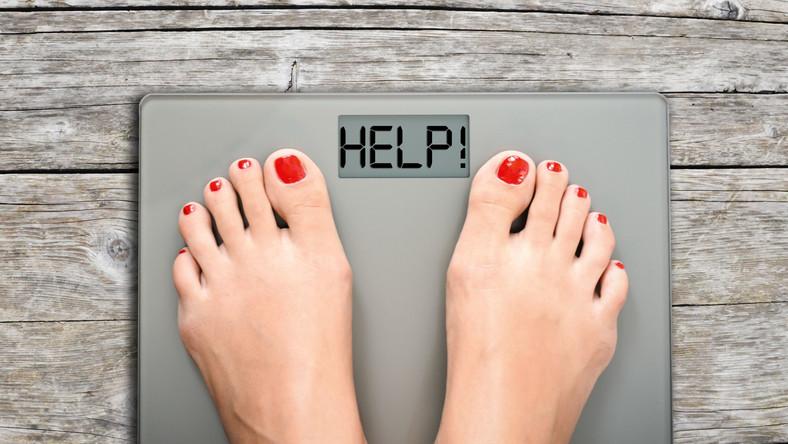 Problem z odchudzaniem, waga