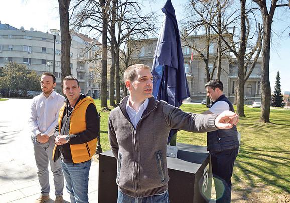 Novi pokret će okupiti značajan broj ljudi koji, kao i mi, misle da je potrebna potpuna promena sistema, kaže lider DSS Miloš Jovanović