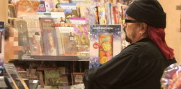 Polski rockman przegląda prasę dziecięcą