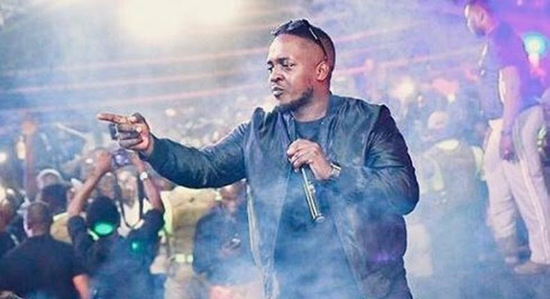 Nigerian music star MI Abaga.[Instagram/MIAbaga]