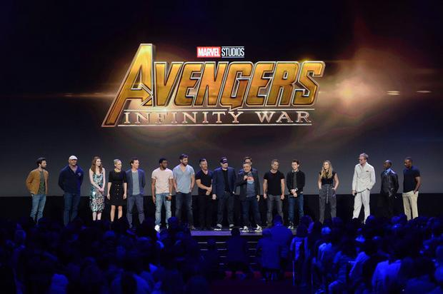 "D23 Expo - ""Avengers: Infinity War"" (fot. Disney)"