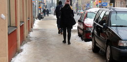 Odśnieżanie w Łodzi. Tydzień czekali, aż śnieg stopnieje