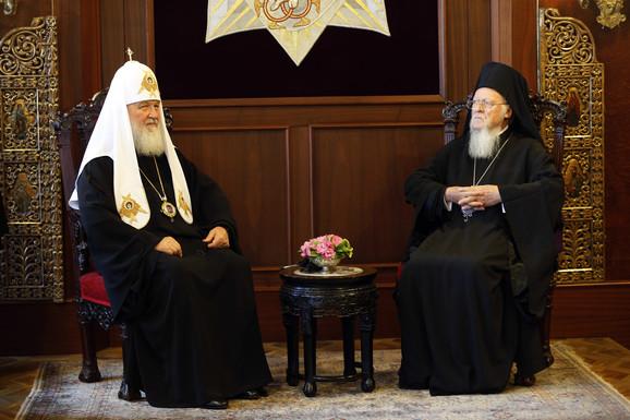 Patrijarh Vartolomej i Patrijarh Kiril u Istanbulu