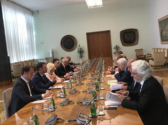 Sastanak srpske i francuske delegacije o gradnji metroa