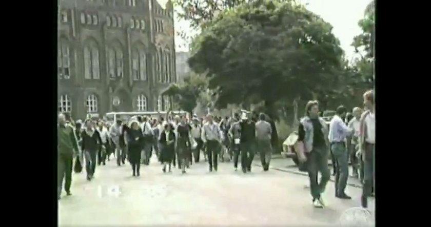 Unikalne nagranie Adamowicza. To krzyczał na ulicy