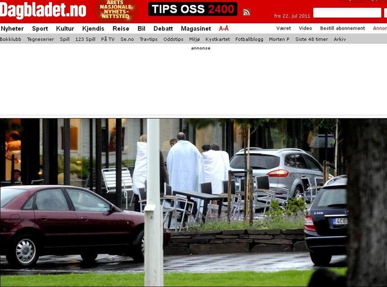 Strzelanina na wyspie niedaleko Oslo