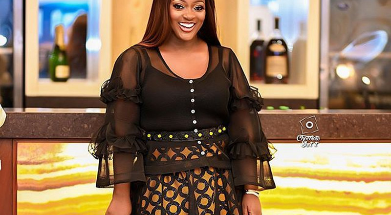 Jackie Appiah stuns in a lovely dress by Ophelia Crossland