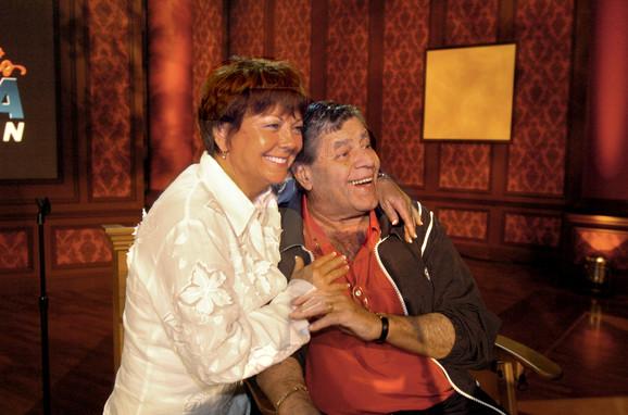 Džeri sa svojom drugom suprugom Sendi