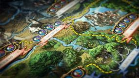 Wiedźmin: Gra przygodowa - Geralt, Triss, Yarpen i Jaskier hasają po planszy