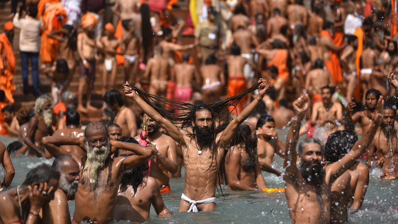 Święto Kumbhamela w Indiach