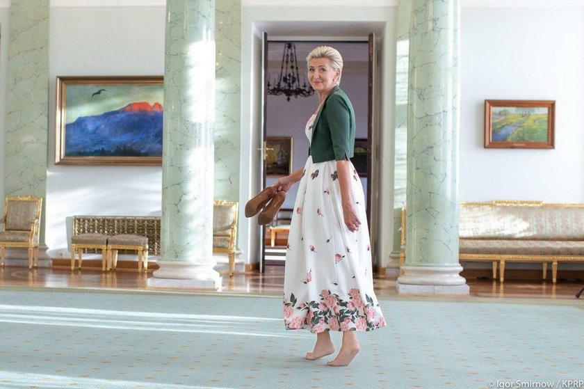 Gdzie są buty pierwszej damy? Głos zabrał Andrzej Duda