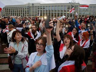 Białoruś: W niedzielę zatrzymano 140 osób