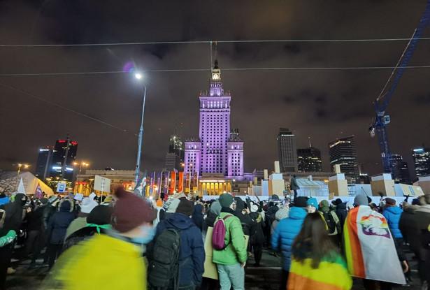 Strajk Kobiet w Warszawie, 29.01.