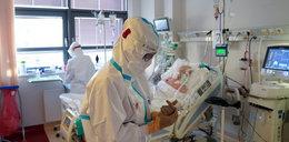 """Dramatyczny apel lekarza. """"5-10 proc. pacjentów pod respiratorem ma szansę przeżyć"""""""