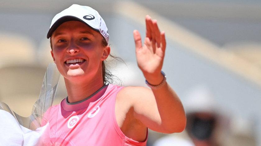 Iga Świątek awansowała do trzeciej rundy Rolanda Garrosa 2021 w Paryżu