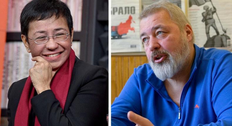 1457299-maria-ressa-et-dmitri-muratov-prix-nobel-de-la-paix-2021