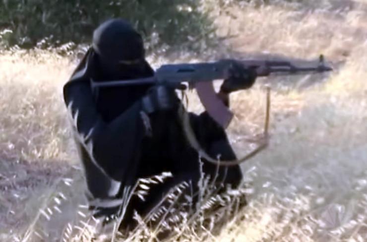 Žene, Islamska država, pokrivalica