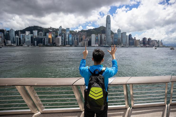 Pet zahteva i nijedan manje - prodemokratski aktivista u Hong Kongu