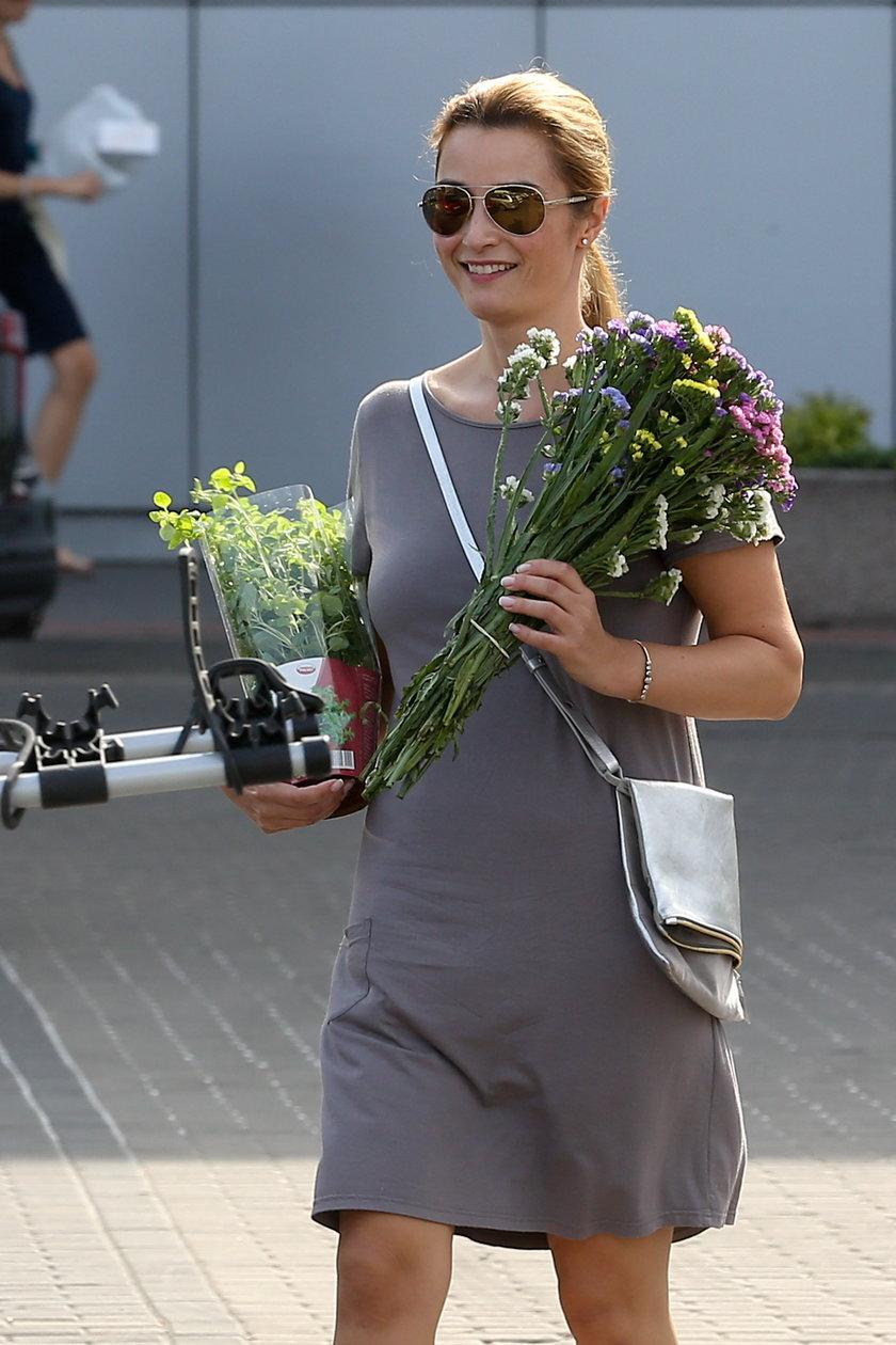 Joanna Brodzik w lipcu 2014