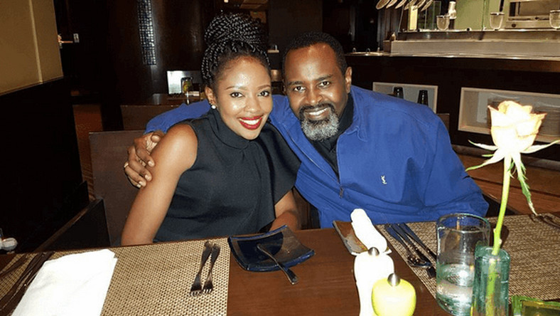 Kambua and her husband (Courtesy)