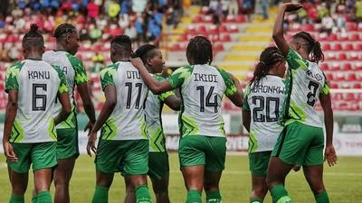 FIFA and CAF presidents watch Super Falcons beat Mali in Lagos