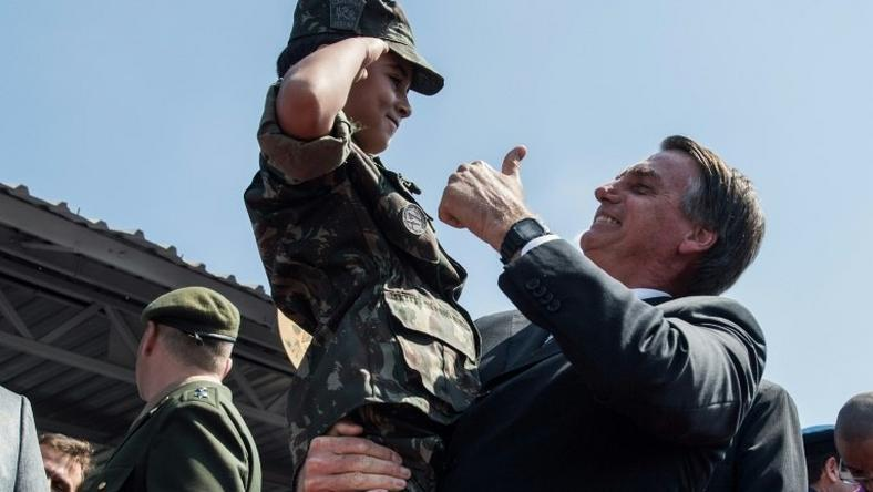 Brazilian election front-runner Jair Bolsonaro is an ex-army captain who maintains close ties to the military