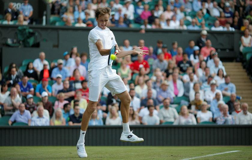 Skandal na Wimbledonie. Zawodnik obrzucił sędziego monetami