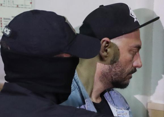 Kiril Serebrenikov na saslušanju 23. avgusta u Moskvi