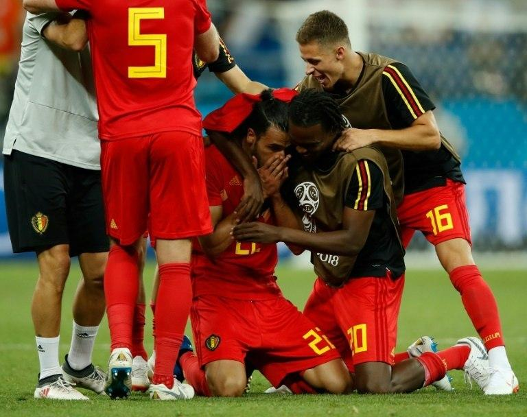 Nacer Chadli's goal sealed Belgium's come-from-behind win against Japan