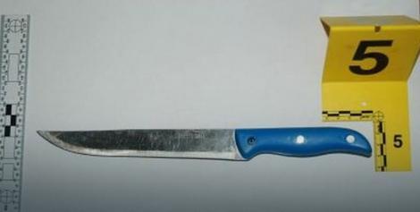 Nož kojim je izvršen napad