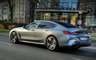 Test BMW M850i Gran Coupe