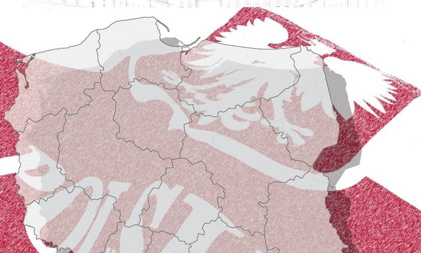 Tak głosowali Polacy. Zobacz mapę